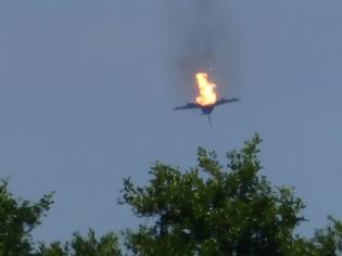 Φωτογραφία για Συγκρούστηκαν δύο αεροσκάφη τύπου Eurofighter - Βίντεο-σοκ από τη στιγμή της πτώσης