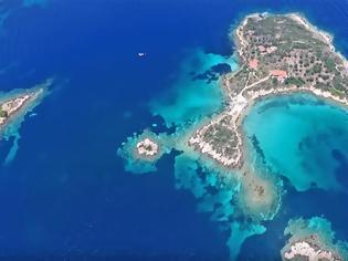 Φωτογραφία για Τα άγνωστα εξωτικά νησάκια της Χαλκιδικής