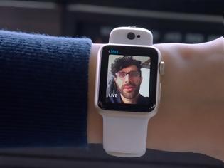 Φωτογραφία για Λειτουργία κάμερας και στο Apple Watch χωρίς το κινητό από την Apple?