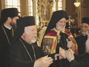 Φωτογραφία για Στον Καθεδρικό Ναό της Αγίας Τριάδας στη Ν.Υόρκη η πρώτη λειτουργία του Αρχιεπισκόπου Ελπιδοφόρου