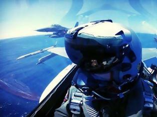 Φωτογραφία για Η φωτό επίδειξη ισχύος τουρκικών F-16 πάνω από το ΓΙΑΒΟΥΖ και η απάντηση από τους πιλότους των Mirage 2000-5