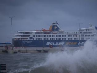 Φωτογραφία για Θυελλώδεις άνεμοι 132 χιλιομέτρων «σάρωσαν» το Αιγαίο