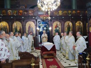 Φωτογραφία για Θ. Λειτουργία Πανελληνίου Συνδέσμου Ιεροδιδασκάλων στην Ευαγγελίστρια Γρεβενών