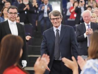 Φωτογραφία για Ντάβιντ Σασόλι: Από τα δελτία ειδήσεων... στην προεδρία του Ευρωπαϊκού Κοινοβουλίου