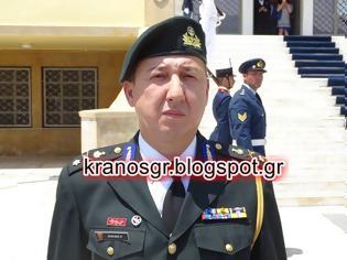 Φωτογραφία για Ο Ταξίαρχος Κώστας Σολκίδης επικεφαλής του Στρατιωτικού Επιτελείου του ΥΦΕΘΑ Αλκ. Στεφανή