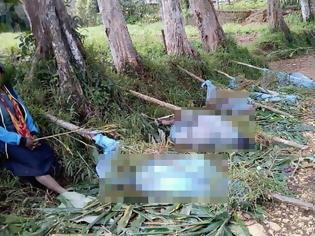 Φωτογραφία για Σφαγή στην Παπούα Νέα Γουινέα - Δεκάδες νεκροί σε συμπλοκές φυλών