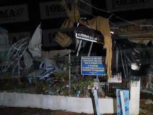 Φωτογραφία για Φωτος-σοκ: Βιβλική καταστροφή στη Σωζόπολη
