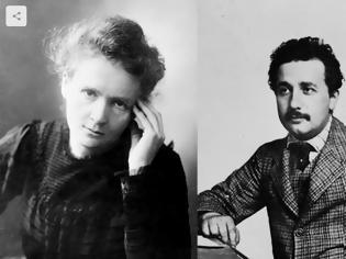 Φωτογραφία για Το υπέροχο γράμμα συμπαράστασης του Einstein προς τη Marie Curie  όταν ξέσπασε το σκάνδαλο