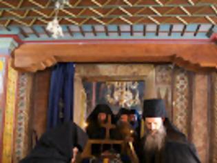 Φωτογραφία για 12252 - Λόγος του σεβαστού Γέροντος Αμφιλοχίου Δοχειαρίτη κατά το τεσσαρακονθήμερο μνημόσυνο του Μακαριστού πατρός Απολλώ, Οικονόμου της Μονής.