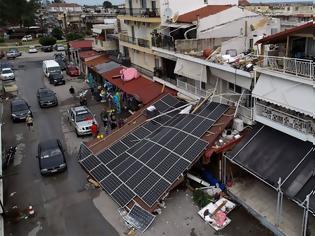 Φωτογραφία για Η καταστροφή στη Χαλκιδική από ψηλά