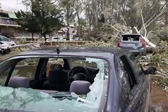Χαλκιδική: Οι εικόνες - σοκ της καταστροφής