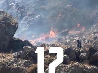 Φωτογραφία για Φωτιά ξανά στη Λίνδο