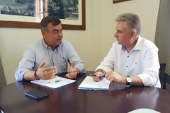 ΒΟΝΙΤΣΑ: Συνάντηση βουλευτή Αθ. Καββαδά με τον Δήμαρχο Γ. Αποστολάκη για το πρόβλημα απορριμμάτων της Λευκάδας
