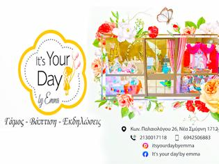 dd567fdf567 Στο νέο κατάστημα It's Your Day!! στη Νέα Σμύρνη θα βρείτε τα πάντα ...
