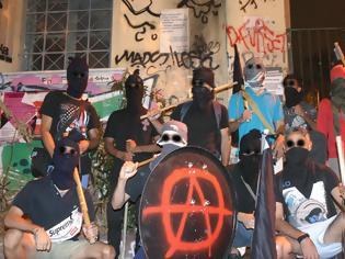 Φωτογραφία για Περιπολία από αντιεξουσιαστές στα Εξάρχεια