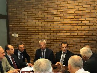 Φωτογραφία για Τελευταία πανηγυρική συνεδρίαση του Τομέα Άμυνας της Ν Δ παρουσία του ΥΠΕΘΑ Ν. Παναγιωτόπουλου