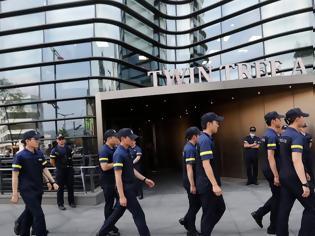 Φωτογραφία για Νοτιοκορεάτης αυτοπυρπολήθηκε μπροστά στην πρεσβεία της Ιαπωνίας στη Σεούλ