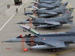 Φωτογραφία για Θέμα χρόνου να πάψουν να πετάνε τα τουρκικά F-16 – Τους «κόβουν» τα ανταλλακτικά