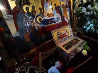 Φωτογραφία για Λείψανο Οσίας Μακρίνης από το Άγιο Όρος στο Κιβέρι Αργολίδος (φωτογραφίες)