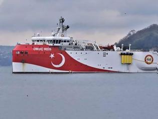 Φωτογραφία για Ασταμάτητη η Τουρκία - Στέλνει στη Μεσόγειο και το «Ορούτς Ρέις»