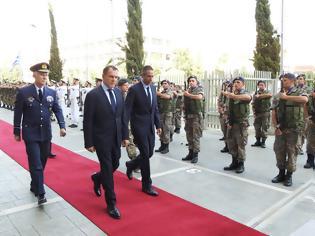 Φωτογραφία για Φωτό από την επίσκεψη του ΥΕΘΑ Νικόλαου Παναγιωτόπουλου στην Κύπρο