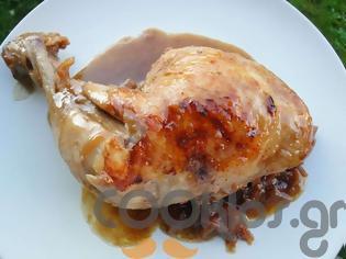 Φωτογραφία για Κοτόπουλο κατσαρόλας με κρεμμύδια σβησμένο με μπύρα