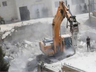 Φωτογραφία για Το Ισραήλ κατεδαφίζει σπίτια Παλαιστινίων στα όρια Ανατολικής Ιερουσαλήμ-Δυτικής Όχθης