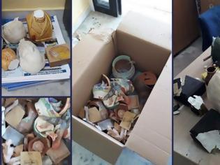 Φωτογραφία για Κομμάτια και θρύψαλα από το σεισμό τα χειροποίητα έργα των Αναπήρων – 'Εκκληση για βοήθεια