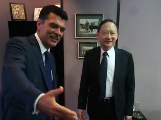 Φωτογραφία για Συνάντηση του βουλευτή Γρεβενών, Ανδρέα Πάτση, με τον εκπρόσωπο της Αντιπροσωπείας της Ταϊπέι στην Ελλάδα, κ. Sherman S. Kuo (εικόνες)