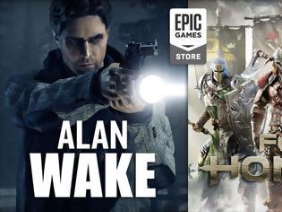 Φωτογραφία για Alan Wake και For Honor δωρεάν για όλους στο Epic Games Store
