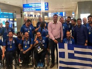 Φωτογραφία για Στην κορυφή της Ευρώπης η Εθνική Ομάδα Καλαθοσφαίρισης με Αμαξίδιο