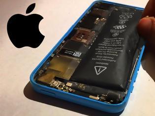 Φωτογραφία για Η Apple κάνει τα πάντα έτσι ώστε να μην μπορείτε να αλλάζετε μόνοι σας την μπαταρία