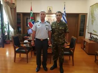 Φωτογραφία για Στην 1η Μεραρχία ο νέος Αστυνομικός Διευθυντής Ημαθίας