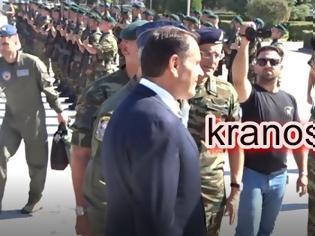 Φωτογραφία για Οι επιχειρησιακοί Στρατηγοί Λαλούσης και Κούτρας και η ενημέρωση στον ΥΕΘΑ Νίκο Παναγιωτόπουλο