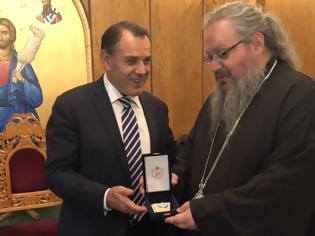 Φωτογραφία για Ο Υπουργός Εθνικής Άμυνας Νίκος Παναγιωτόπουλος στο Μητροπολίτη Λαρίσης και Τυρνάβου