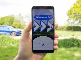 Φωτογραφία για Οι Χάρτες Google στο iPhone προσθέτουν πλοήγηση αυξημένης πραγματικότητας