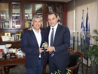 Φωτογραφία για Συνάντηση του ΥΕΘΑ Ν. Παναγιωτόπουλου με τον Περιφερειάρχη Θεσσαλίας Κ. Αγοραστό