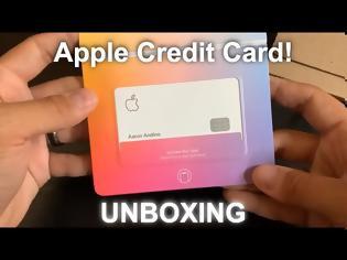 Φωτογραφία για Apple Card: παραδίδονται τα πρώτα αντίγραφα (αποσυσκευασία βίντεο)