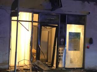 Φωτογραφία για Έκρηξη κοντά σε αστυνομικό τμήμα στην Κοπεγχάγη