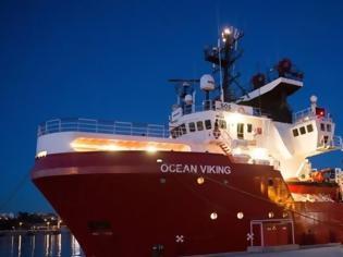 Φωτογραφία για Διάσωση 85 μεταναστών από το πλοίο Ocean Viking
