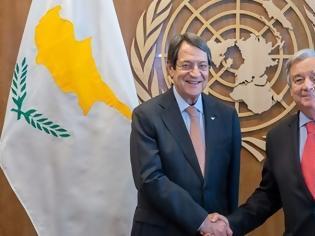 Φωτογραφία για Γ.Γ. ΟΗΕ: Παραμένει ίδια η θέση του ΟΗΕ για την Αμμόχωστο