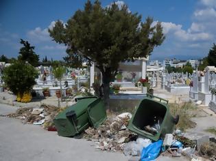 Φωτογραφία για Φρίκη με πτώμα μωρού στο νεκροταφείο