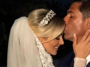 Φωτογραφία για Τα ερωτικά λόγια του Ντόντα για τη σύζυγό του: «Σήμερα είναι η μέρα του άλλου μου μισού»