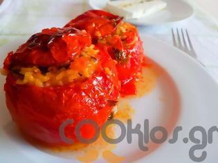 Φωτογραφία για Ντομάτες γεμιστές με ρύζι