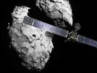 Φωτογραφία για Ο κομήτης Churyumov-Gerasimenko