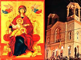 Φωτογραφία για Ο εορτασμός της Παναγίας στον Ι.Ν. Αγίας ΑΓΙΑΣ  ΠΑΡΑΣΚΕΥΗΣ  ΠΑΛΑΙΡΟΥ