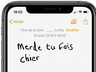 Φωτογραφία για Η Apple παρακολουθεί και λογοκρίνει τι γράφουμε στις σημειώσεις μας