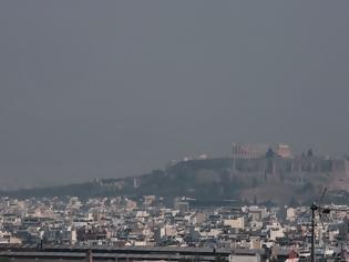 Φωτογραφία για «Πνίγεται» στον καπνό από τη φωτιά στην Εύβοια η Αθήνα