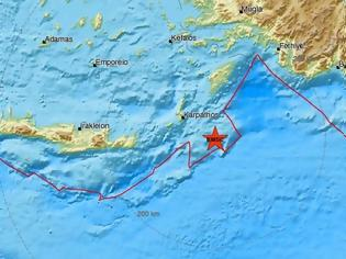 Φωτογραφία για Σεισμός νοτιοανατολικά της Καρπάθου (pics)