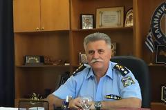Το βιογραφικό του νέου Γενικού Αστυνομικού Διευθυντή Δυτικής Ελλάδας